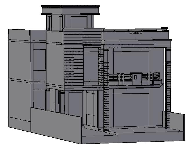 Planos de Casa  3d, en Vivienda unifamiliar 3d – Proyectos
