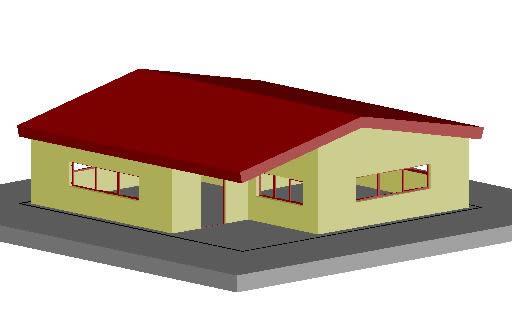Planos de Casa 3d, en Viviendas temporales instalaciones – Obradores