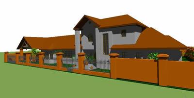 Planos de Casa arellano 3d, en Vivienda unifamiliar 3d – Proyectos