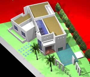 Planos de Casa campestre 3d, en Vivienda unifamiliar 3d – Proyectos