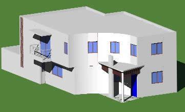 Planos de Casa cauich, en Vivienda unifamiliar 3d – Proyectos