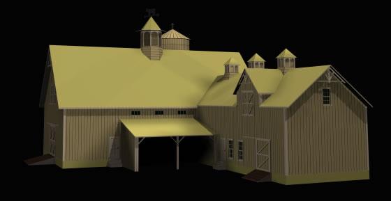 Casa de campo 3d, en Vivienda unifamiliar 3d – Proyectos