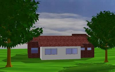 Planos de Casa de campo 3d, en Vivienda unifamiliar – Proyectos