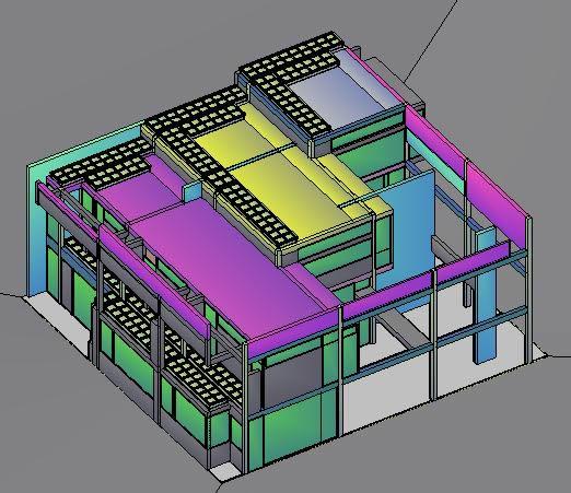 Planos de Casa de eisemann 3d, en Obras famosas – Proyectos