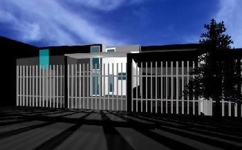 Casa en 3d max, en Vivienda unifamiliar 3d – Proyectos
