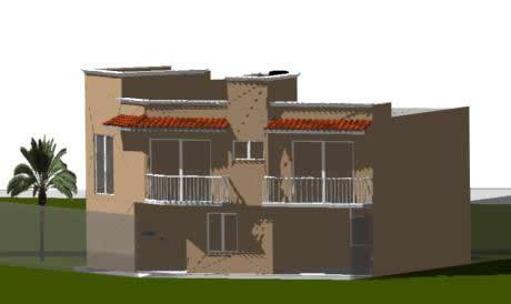 imagen Casa habitación 3d, en Vivienda unifamiliar 3d - Proyectos