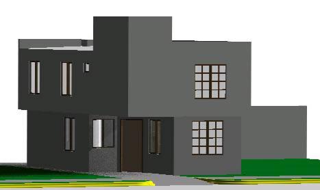 Planos de Casa habitacion 3d, en Vivienda unifamiliar 3d – Proyectos