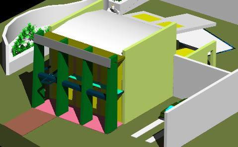 Planos de Casa habitacional 3d, en Vivienda unifamiliar 3d – Proyectos