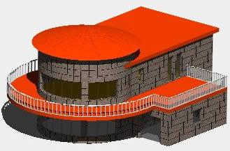 imagen Casa habitacional 3d, en Vivienda unifamiliar - Proyectos