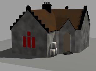 Planos de Casa medieval, en Residencias y palacetes – Historia