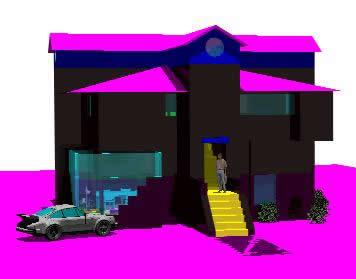 Planos de Casa merida, en Obras famosas – Proyectos