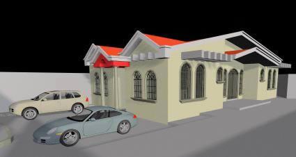 Casa particular 3d, en Vivienda unifamiliar 3d – Proyectos