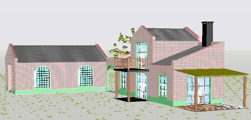 Planos de Casa quinta 3d, en Vivienda unifamiliar 3d – Proyectos