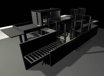 Casa tipo cousteau, en Vivienda unifamiliar 3d – Proyectos