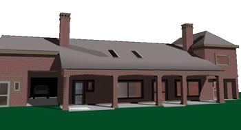 Casa unifamiliar, en Vivienda unifamiliar 3d – Proyectos