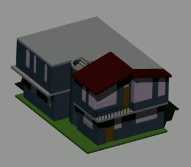 imagen Casa3d, en Vivienda unifamiliar 3d - Proyectos