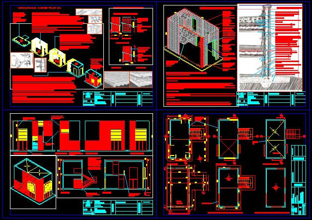 Planos de Cassaforma es un sistema constructivo integral – sismorresistente y aislante termoacústico de última generación, en Panel g.r.c. – Sistemas constructivos