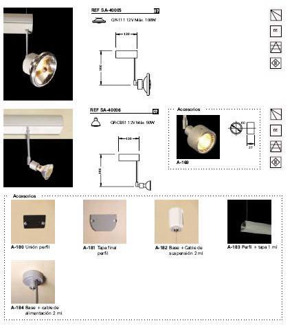 imagen Catalogo de iluminacion, en Luminarias - Muebles equipamiento