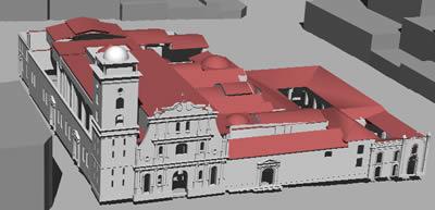 Planos de Catedral de caracas con contexto en 3d, en Iglesias y templos – Historia