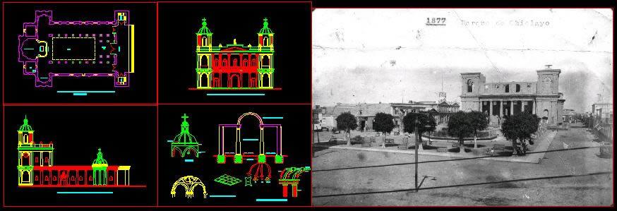 Planos de Catedral de chiclayo, en Iglesias y templos – Historia