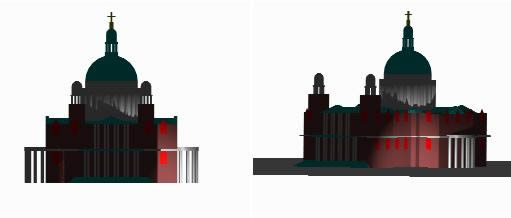 Planos de Catedral san pablo 3d, en Obras famosas – Proyectos