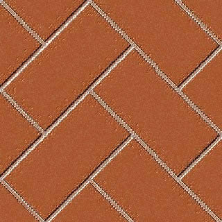 Ceámico traba en diagonal rojizo, en Pisos cerámicos – Texturas