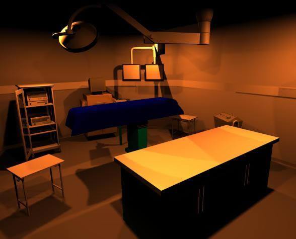 Centro cirurgico 3d, en Equipamiento – Hospitales