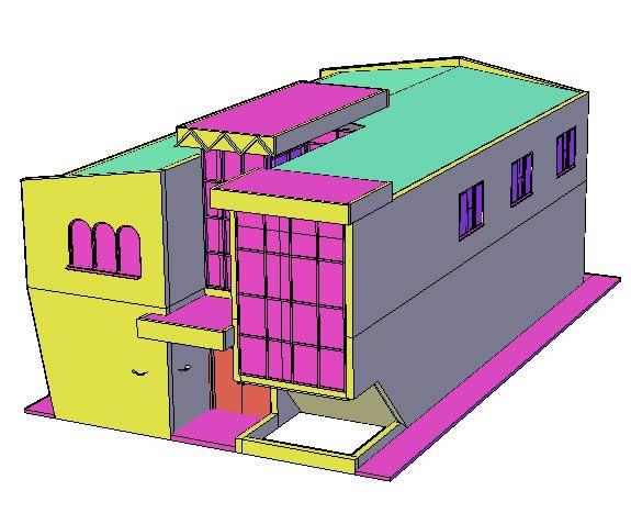 Planos de Centro civico 3d, en Centros comunitarios – Proyectos