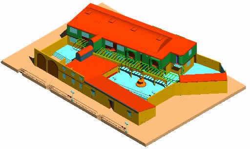 imagen Centro civico  arquitectura 3d, en Centros comunitarios - Proyectos
