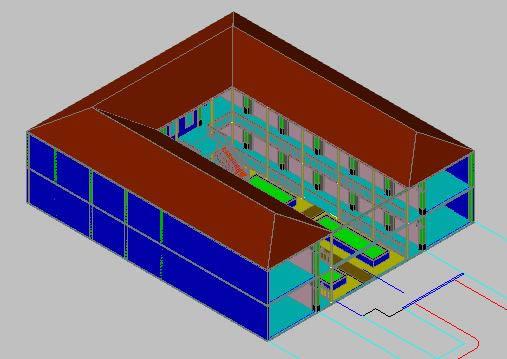 Planos de Centro comercial 3d, en Centros comerciales supermercados y tiendas – Proyectos