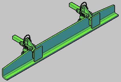 imagen Clamp, en Industria minera - Máquinas instalaciones