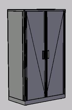 Planos de Closet, en Dormitorios – Muebles equipamiento