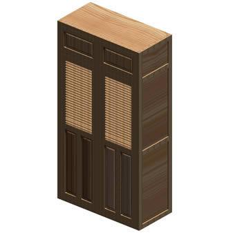 Planos de Closet – placard 3d, en Estanterías y modulares – Muebles equipamiento