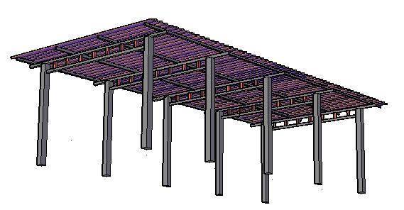 Planos De Cobertizo Para Garage En Cubiertas Estructuras