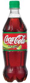 Cocacola con imagen de opacidad, en Objetos varios – Muebles equipamiento