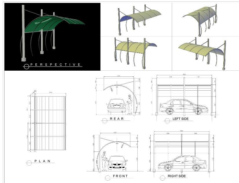 Planos de Cochera, en Estacionamiento – Proyectos