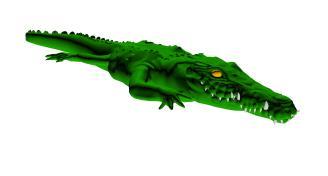 Cocodrilo 3d, en Animales 3d – Animales