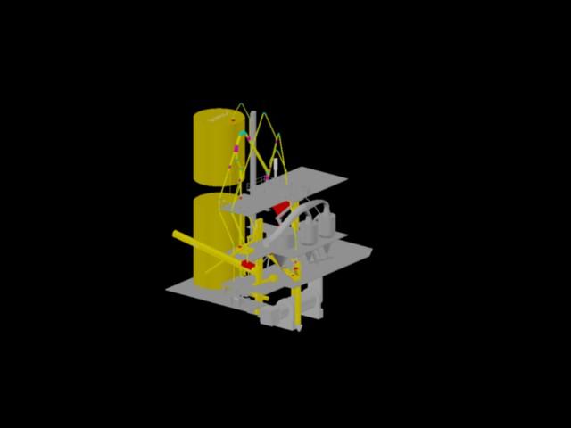 Planos de Colector de polvo, en Ventilación – Instalaciones