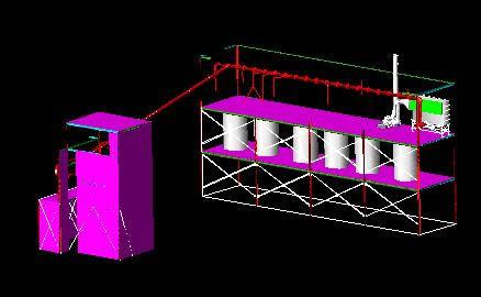 Planos de Colector de polvos, en Maquinaria e instalaciones industriales – Máquinas instalaciones
