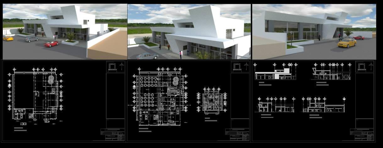 imagen Colegio de ingenieros, en Oficinas bancos y administración - Proyectos