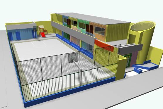 Colegio – jardin para niños, en Proyectos varios – Proyectos