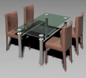 Comedor 3d, en Mesas y juegos de comedor 3d – Muebles equipamiento