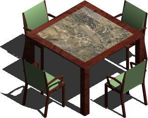 imagen Comedor buenos aires, en Mesas y juegos de comedor 3d - Muebles equipamiento