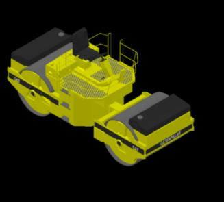 Planos de Compactador cat 3d, en Maquinaria – Obradores
