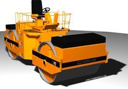 Compactadora grande, en Camiones – Medios de transporte