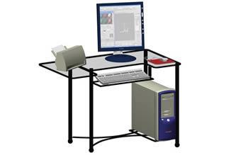 Compaq con mesa, en Informática – Muebles equipamiento