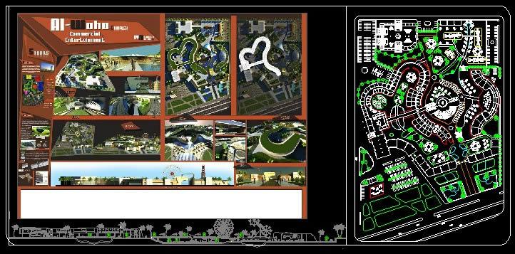 imagen Complejo centro comercial, en Centros comerciales supermercados y tiendas - Proyectos
