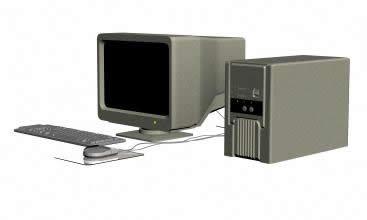 imagen Computadora 3d, en Informática - Muebles equipamiento