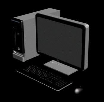 imagen Computadora hp pavillion, en Informática - Muebles equipamiento