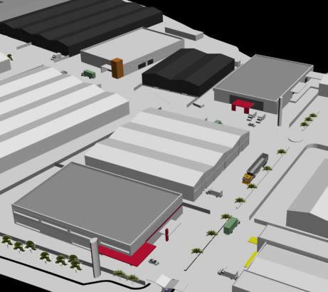 Condominio industrial 3d, en Galpones – Proyectos